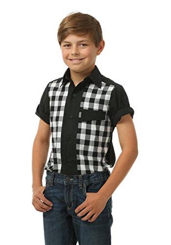 Kids 50's Bowler Shirt Small