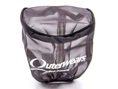 Outerwears 10-1052-01 Pre-Filter 3.5in Dia x 4in L w/Top Black
