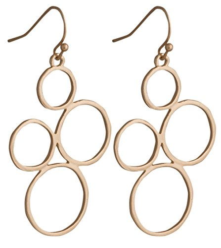 Circle Dangle Earrings SPUNKYsoul Collection