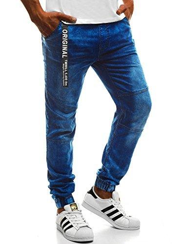 1 Fitness Sport Jeans 631s 777 Tempo Jogger Pantaloni Ozonee 777 631s Libero Uomo Jogging ozonee Baggy d10wdZYx