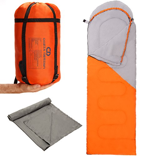 Superior-Sleeping-Bag-Set-Lightweight-Sleeping-Bag-with-Compression-Sack-and-Polyester-Sleeping-Bag-Liner