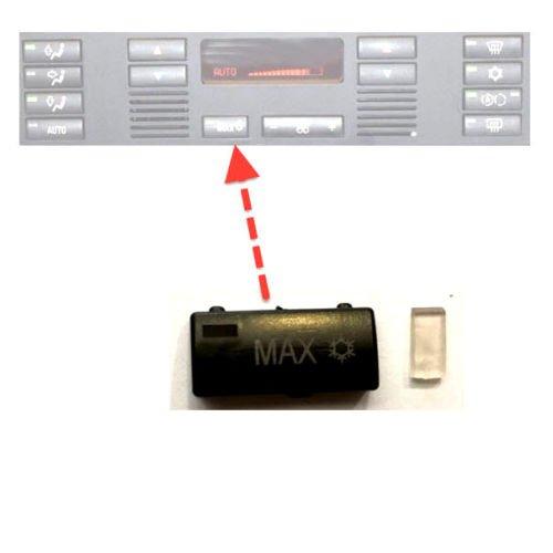 fü r 5er E39 X5 E53 Klimabedienteil Schalter Taste MAX C-P Zubehör