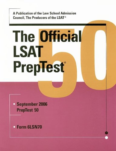 The Official LSAT PrepTest 50