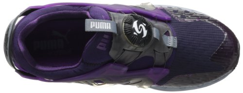 Puma Mens Disc Blaze Lite Tech Fashion Sneaker Black Cherry / Spumante Uva / Nero