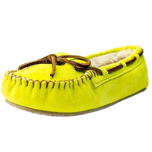 (Minnetonka Women's Cally Slipper Citron 7 (M) US )