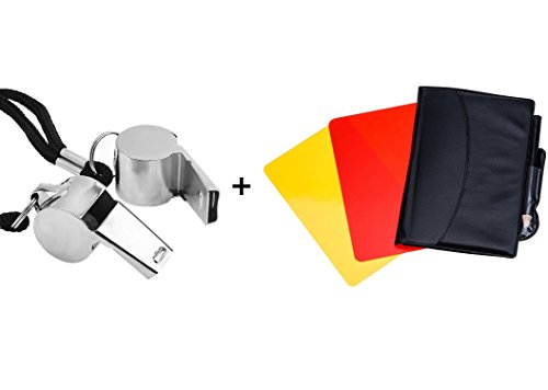 Soccer Football Referee Case with Red Card and Yellow Card - 3