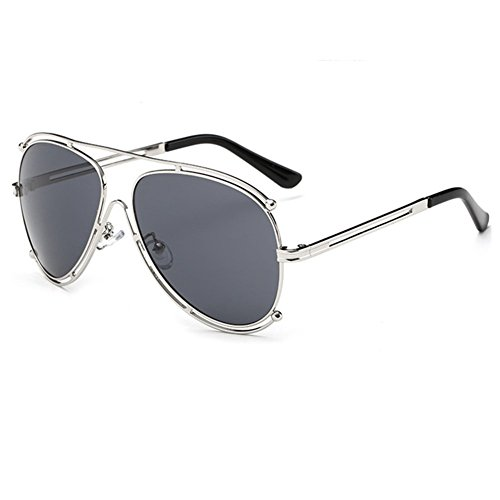Z-P Unisex New Style Fashion Double Circle Metal Frame Frog Mirror Sunglasses - Rb3447 Price