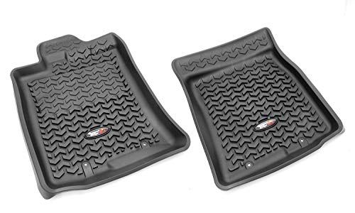 Rugged Ridge All-Terrain 82904.30 Black Front Row Floor Liner For Select Toyota FJ Cruiser Models