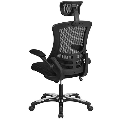 Flash-Furniture-Mid-Back-Swivel-Task-Chair-with-Flip-Up-Arms
