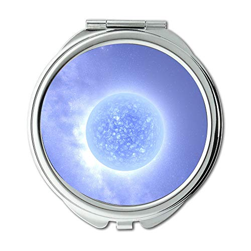 Yanteng Mirror,Mouse Away Concentrate Dreaming Earth,Protect The Earth 005 Makeup Mirrors,Pocket Mirror,Portable Mirror