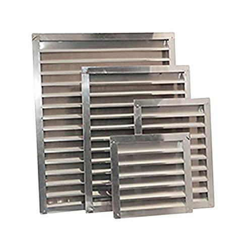 Ventamatic SGV1418 Mill Aluminum Wall and Gable Louvers 14 x 18 14 x 18