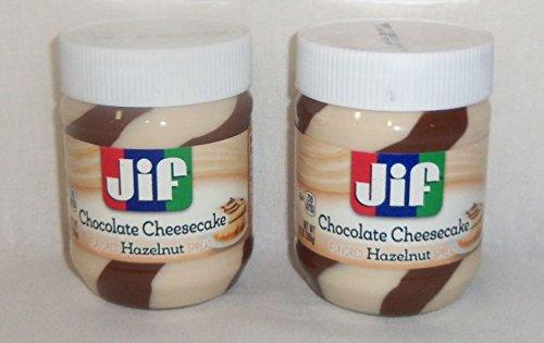 Jif Chocolate Cheesecake Hazelnut Spread 13 Ounce - (2 - Cheesecake Chocolate Dark