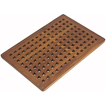 bathroom floor liner bare decor cosi string spa shower mat in solid 10655