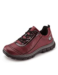 Rieker womens Low shoes wine/bordeaux