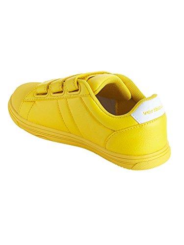Vertbaudet Zapatillas de Deporte de Material Sintético Niños amarillo