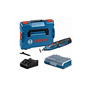 Bosch Professional GRO 12 V-35 Cordless Rotary Multi-Tool with 2 x 12 V 2.0 Ah Lithium-Ion Batteries