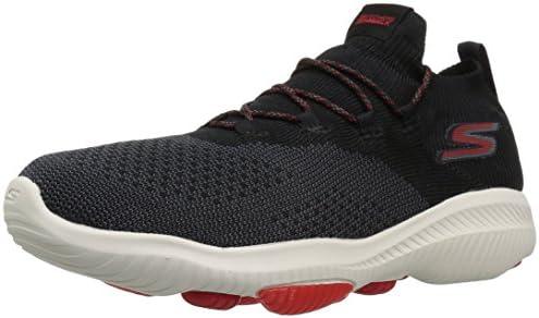 Skechers Men's GO Walk Revolution Ultra Sneaker, Blackred