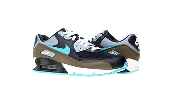 buy online 13385 ec05a Nike AIR MAX 90 Mens 325018-415 (11.5, Obsidian Turquoise Blue-Blue Grey- White)  Amazon.ca  Shoes   Handbags