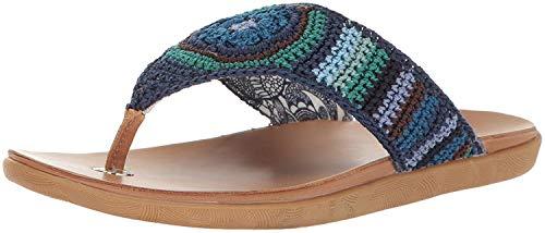 - The Sak Women's Sarria Flip Flop, Neptune Stripe, 7 M US