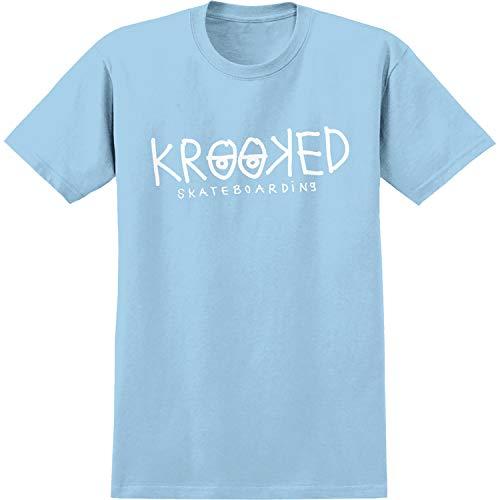 Krooked Skateboards Eyes Powder/White Men