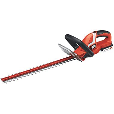 BLACK+DECKER LHT2220 22-Inch 20-Volt Lithium Ion Cordless Hedge Trimmer,Includes 20v Battery