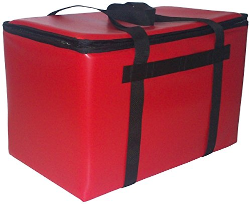 TCB Insulated Bags GYCC-Red Insulated Giant Yacht Cooler Club Bag, 13'' x 22'' x 14'', Red by TCB Insulated Bags