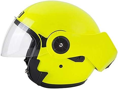 Airoh REV casco modulare FUSION 2019 giallo fluo mentoniera ribaltabile Taglia M