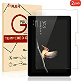 Surface Go Screen Protector(10 Inch),PULEN 9H Hardness [Easy Installation][Anti-fingerprints] [Anti-Scratch] [No Bubble] [Ultra Clear] Tempered Glass Film for Microsoft Surface Go Tablet 2018[2-Pack]
