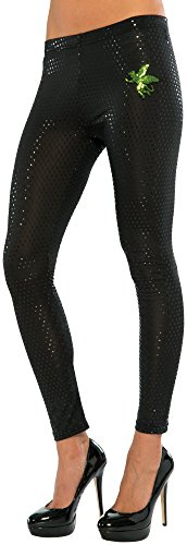 Monkey From Wizard Of Oz Costumes (Rubie's Costume Co Women's Wizard Of Oz Wicked Witch Of The West Sequined Leggings, Green, One Size)