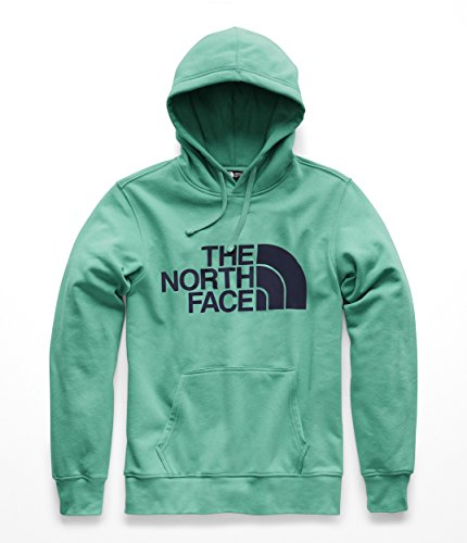 The North Face Men's Jumbo Half Dome Hoodie - Porcelain Green & Urban Navy - S (North Face Hoodie Xxl)