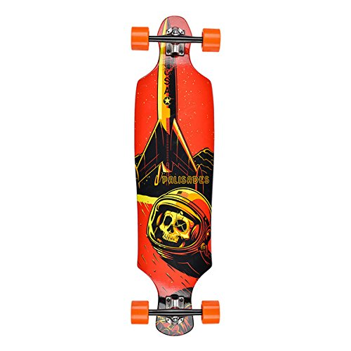 Palisades Longboards Stuck on Mars Complete Longboard, 10.125