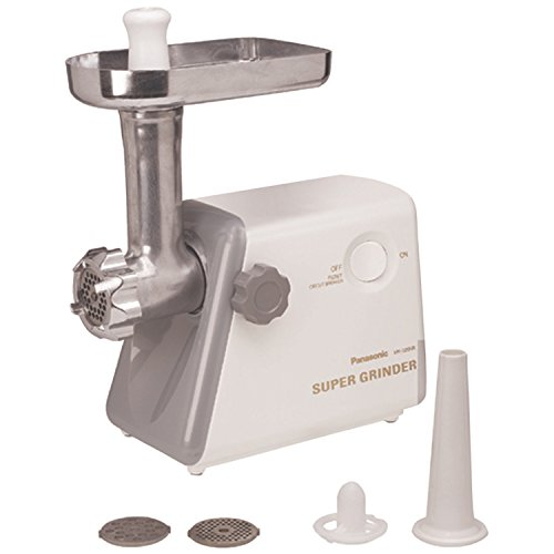 Panasonic MK-G20NR-W Heavy Duty Meat Grinder by Panasonic
