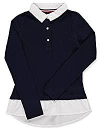 French Toast Girls' L/S Layered Top