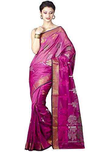 Chandrakala Women's Cotton Silk Saree (8492_Sea Green)