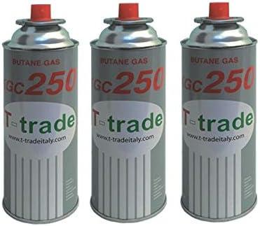 altigasi 3 unidades – Cartucho Bote de gas licuado 250 gr Art ...