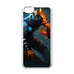 iPhone 5c Cell Phone Case White League of Legends Blight Crystal Varus GYV9420245