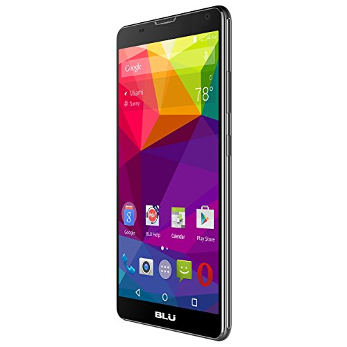 BLU Neo XL N110U Unlocked GSM Quad-Core Android Phone w/8 MP Camera - Black (Certified Refurbished) by