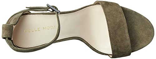 Sandal Olive Women's Pelle Bonnie Dress Moda BxIwwq46