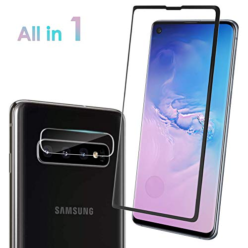 Tempered Glass Screen Protector for Galaxy S10 Plus [6.4