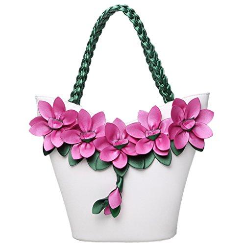 Ltoola Bag White Stylish Elegant Women Hand Tote White Bag Style Shoulder Bags Shoulder Bags rqPSHrfw