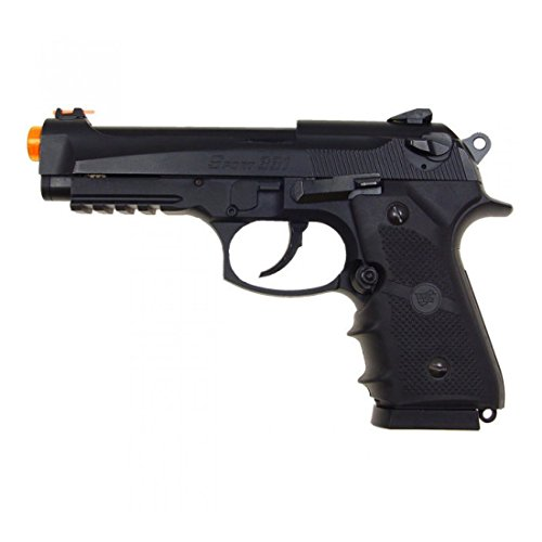 450 Fps Airsoft Type - 500 FPS WG AIRSOFT METAL M9 BERETTA BLOWBACK GAS CO2 HAND GUN PISTOL w/ 6mm BB