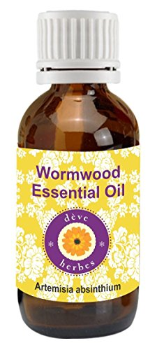 Pure Wormwood Essential Oil 15ml (Artemisia Absinthium) (Oil Artemisia Bath)
