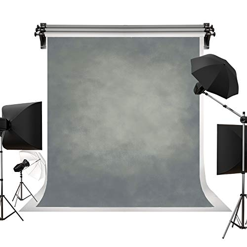 Kate 5x7ft/1.5x2.2m(W:1.5m H:2.2m) Light Grey Texture Backdrop Portrait Photography Backdrops Gray Abstract Background Photography Studio Props for Photographer
