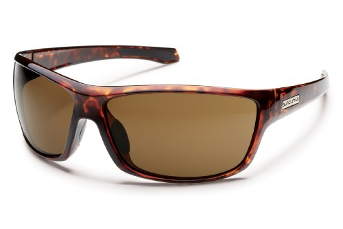 Suncloud Conductor Polarized Sunglasses, Tortoise Frame, Brown Lens