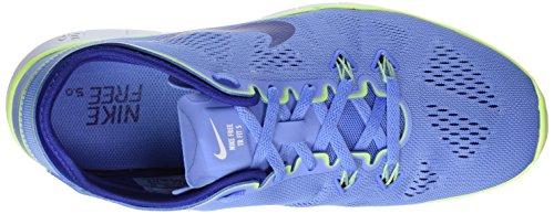 Nike Wmns Free 5.0 TR Fit 5, Zapatillas de Gimnasia para Mujer Azul (Chlk Bl / Dp Ryl Bl-Ghst Grn-Whi)