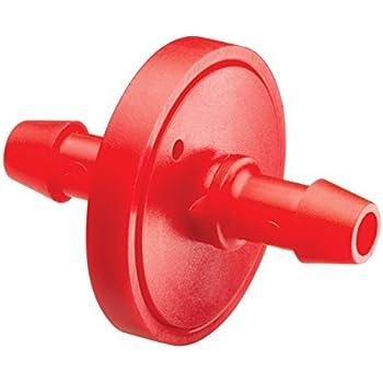 Rain Bird ILD0510PKXS Drip Irrigation In-Line Dripper/Emitter, 0.5 (1/2) Gallon Per Hour, 10-Pack