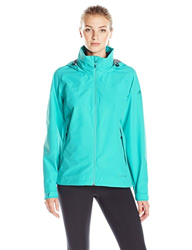 Adidas Outdoor Women's 2 Layer Wandertag Gore-Tex Jacket, Vivid Mint, Medium
