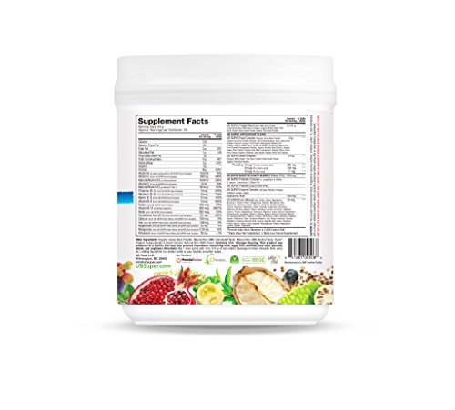 UB Super Protein Superfood Nutritional Shake - Probiotic Dietary Supplement - Grass Fed Whey/Collagen (Vanilla)
