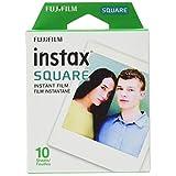 Fujifilm Instax Square Film, White Single Pack (10 Exposures)