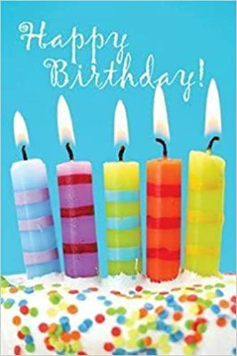 Birthday Candles Cake Postcard Pkg Of 25 Cards August 1 2010
